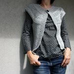 Modèle gratuit tricot gilet sans manche femme
