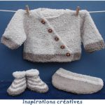 Modele layette a tricoter