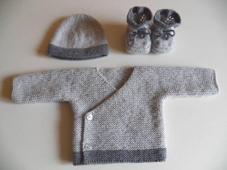 brassiere naissance en laine