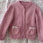 Tricoter un gilet facile pour fillette