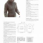 Modele pull femme a tricoter gratuit