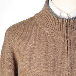 Gilet femme zippé laine