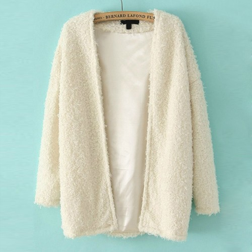 Gilet laine femme grosse maille