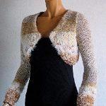 Bolero femme tricot