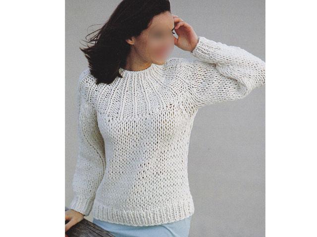 tricoter un gilet facile femme