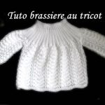 Brassiere bebe a tricoter