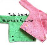 Model brassiere bebe tricot