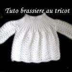 Tricoter brassiere facile pour bebe