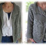 Modele tricot veste