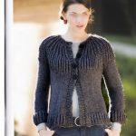 Veste en tricot homme