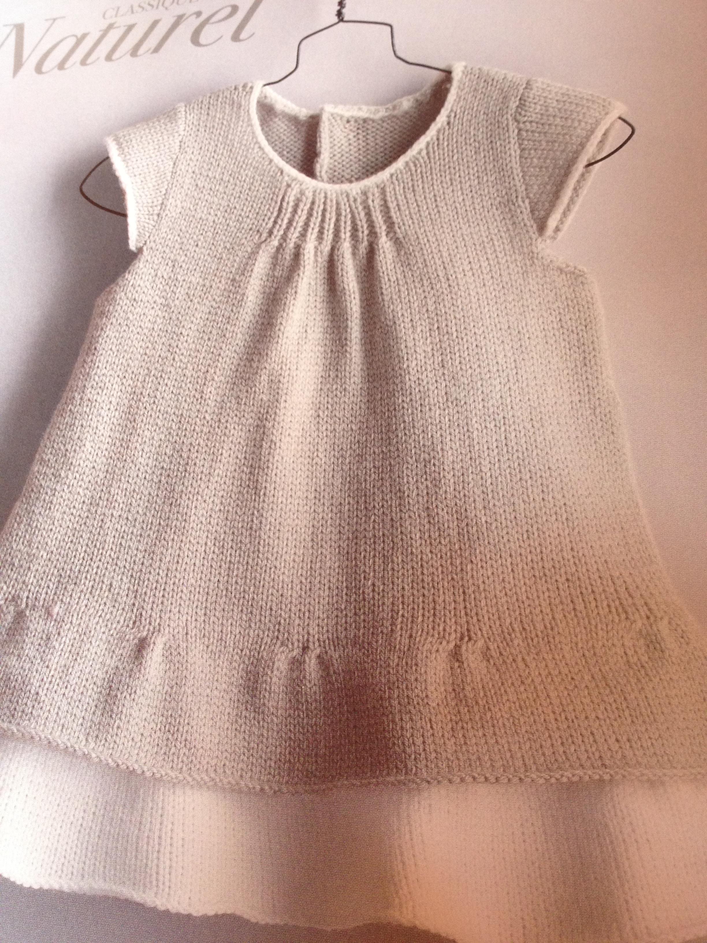 tricot enfant modele gratuit
