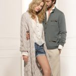 Manteau en tricot pour femme