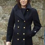 Caban femme laine