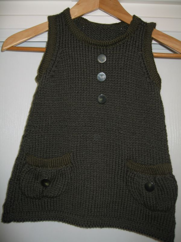 modele tricot robe fille gratuit
