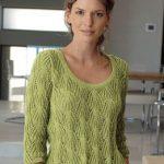 Modele de pull à tricoter gratuit pour femme