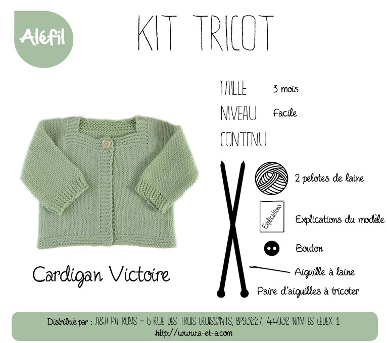 kit tricot solde