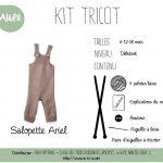 Kit tricot debutant bébé