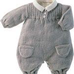 Combinaison bébé tricot