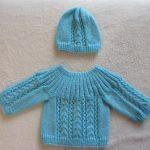 Brassiere en laine nouveau né