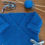 Tricot en laine pour bebe