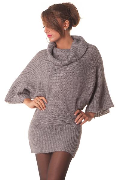 Super Pull long en laine femme - Laine et tricot ZD23