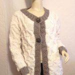 Tricoter une veste femme en laine