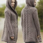 Gilet manteau laine femme