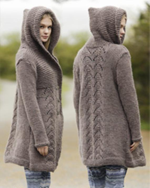 Veste en laine femme fantaisie