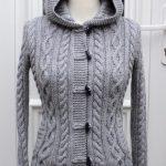 Veste a tricoter femme