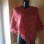 Poncho tricot femme