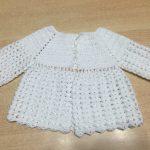 Brassiere bebe crochet