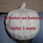 Tricoter bonnet bébé naissance facile