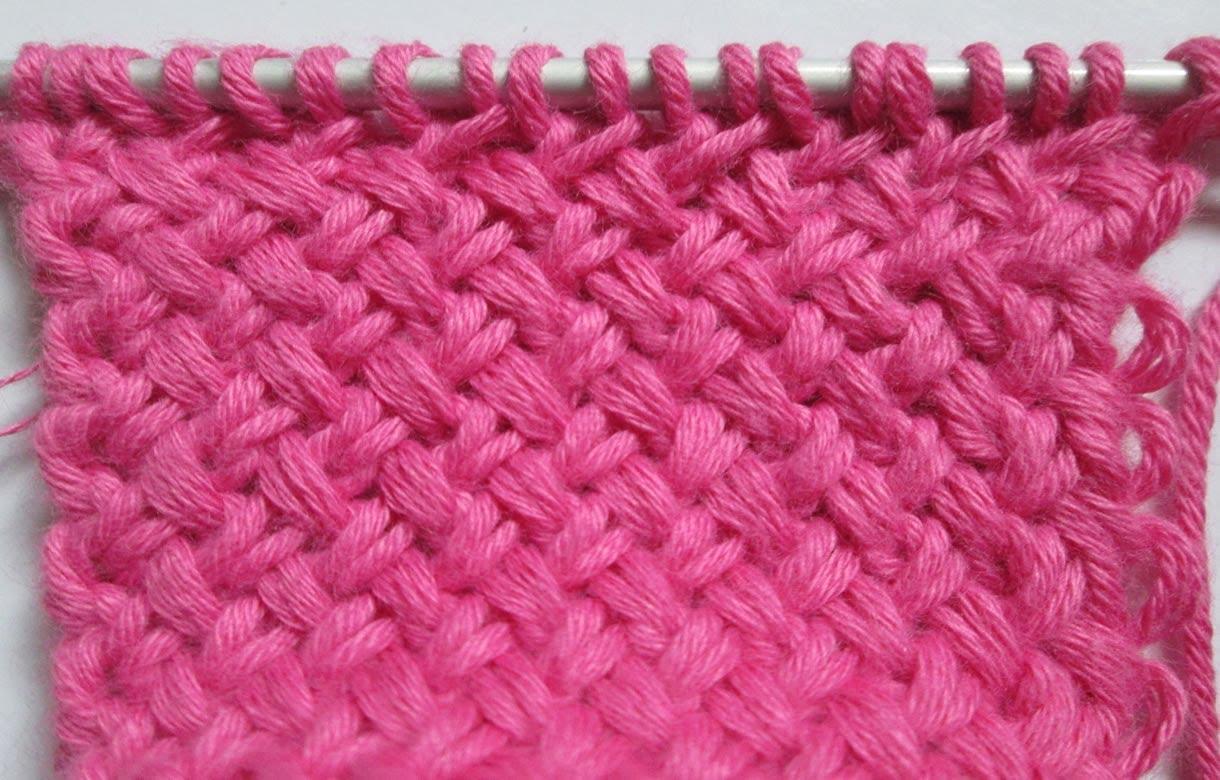 Point tricot facile laine et tricot - Point tricot facile joli ...