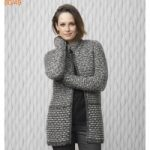 Modele tricot manteau femme