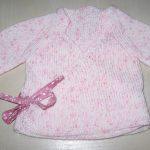 Brassière de laine bébé