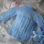 Brassières laine bébé