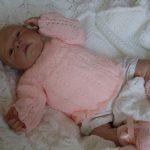 Brassière bébé laine naissance