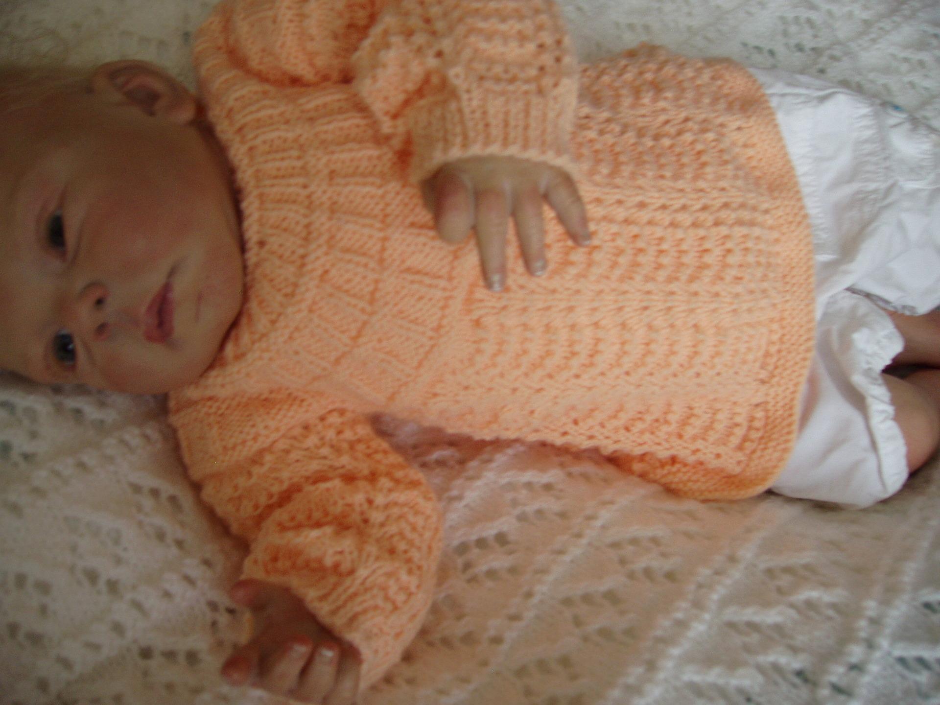 Favori Brassière pour bébé - Laine et tricot WP01