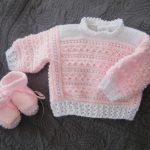 Brassière bébé en laine