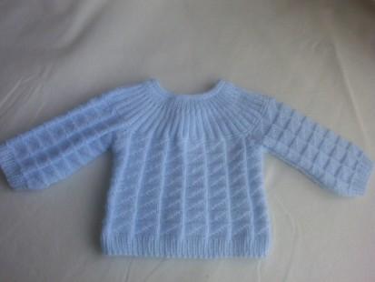 tricoter brassiere bebe