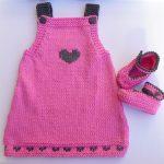 Robe tricot bébé