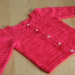 Modele pull a tricoter fille