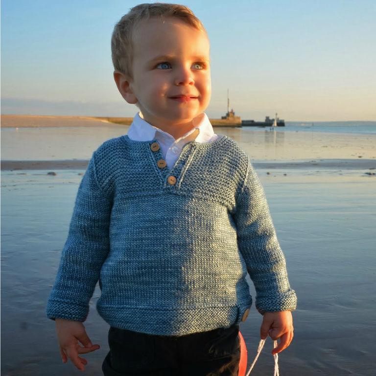 modele gratuit tricot pull enfant