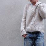 Modele pull en laine a tricoter