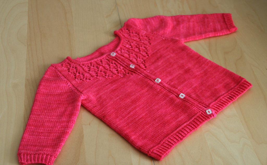 Modèle gilet tricot bébé gratuit