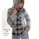 Modèle gilet tricot