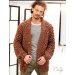 Tricot veste homme