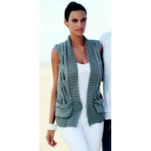 modele tricot gratuit gilet sans manche femme laine et tricot. Black Bedroom Furniture Sets. Home Design Ideas