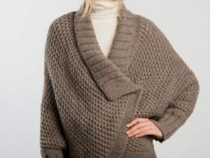 modele gratuit tricot cape femme