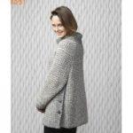 Modèle pull à tricoter femme